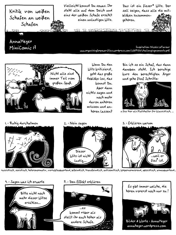MiniComic Kritik
