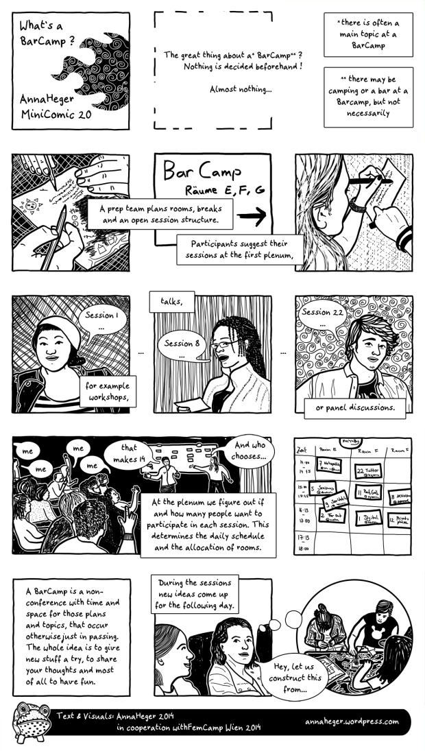 MiniComic 20 What's a BarCamp?