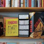 Foto vom Minicomicregal im b_books Buchladen