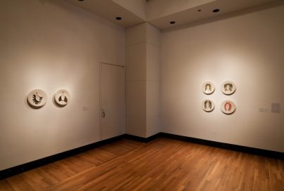 White Tondo Installation View