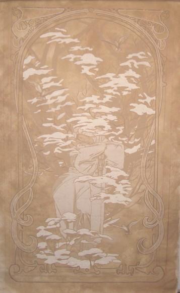 Sapp Stairwell canvas