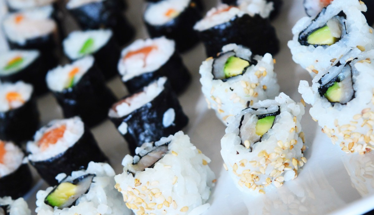 Sushi Sunday (Recipe Uramaki and Ponzu-Sauce)