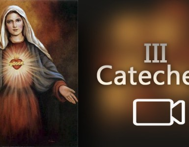 3 catechesi Consacrazione al Cuore Immacolato di Maria