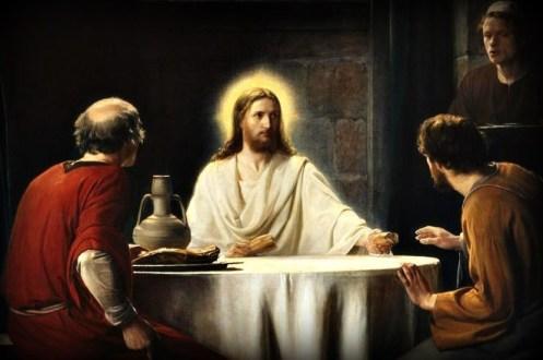 resta con noi Signore ormai si fa sera