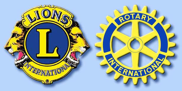 lions e rotary