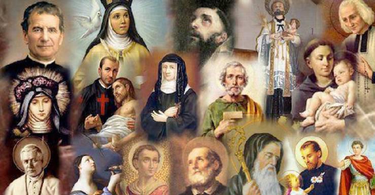 pregare i santi
