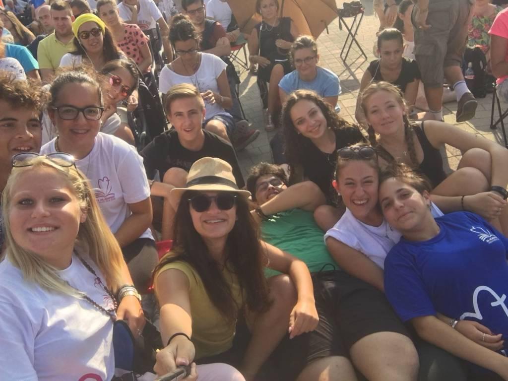 festival dei giovani 2018 con Annalisa colzi esercito di Maria