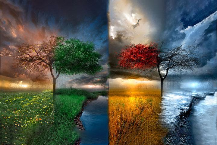 le quattro stagioni di Cristo