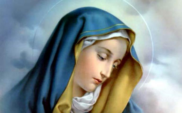 nella sofferenza e nel dolore di Maria