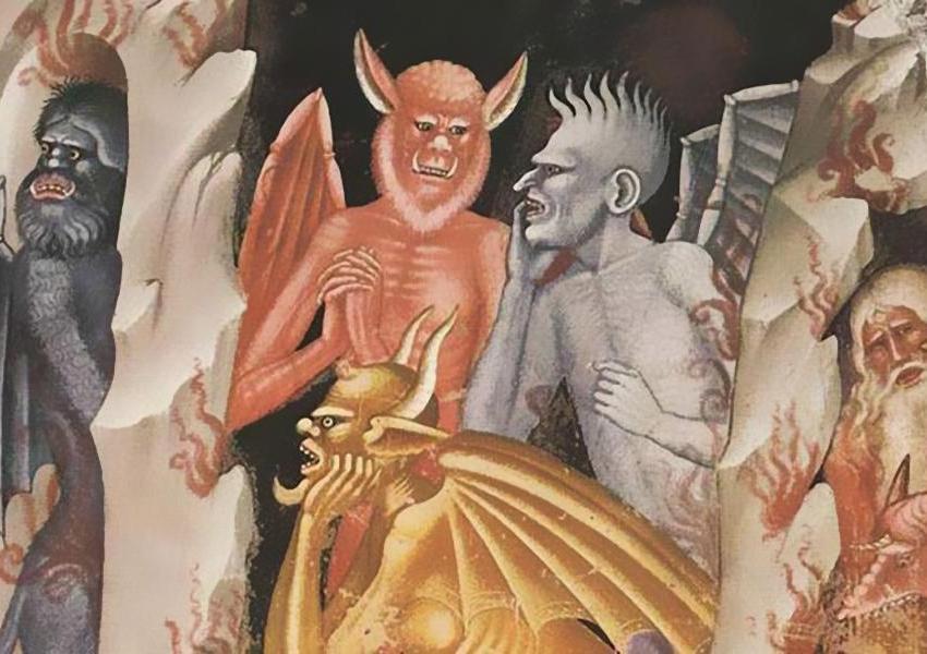 satana è solo un simbolo