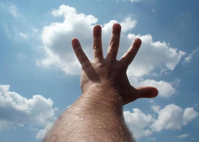 La preghiera egoista che solleviamo al cielo