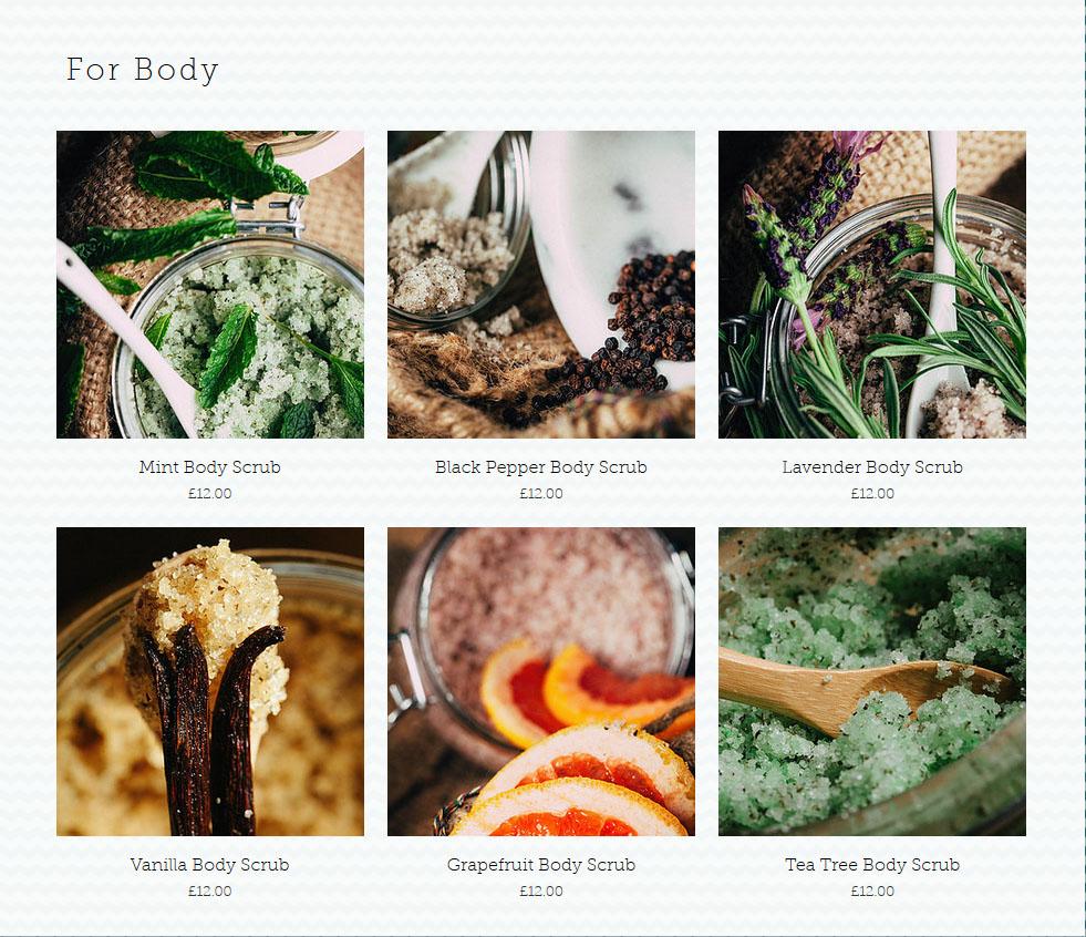 Teal Anchor Grapefruit Body Scrub Review