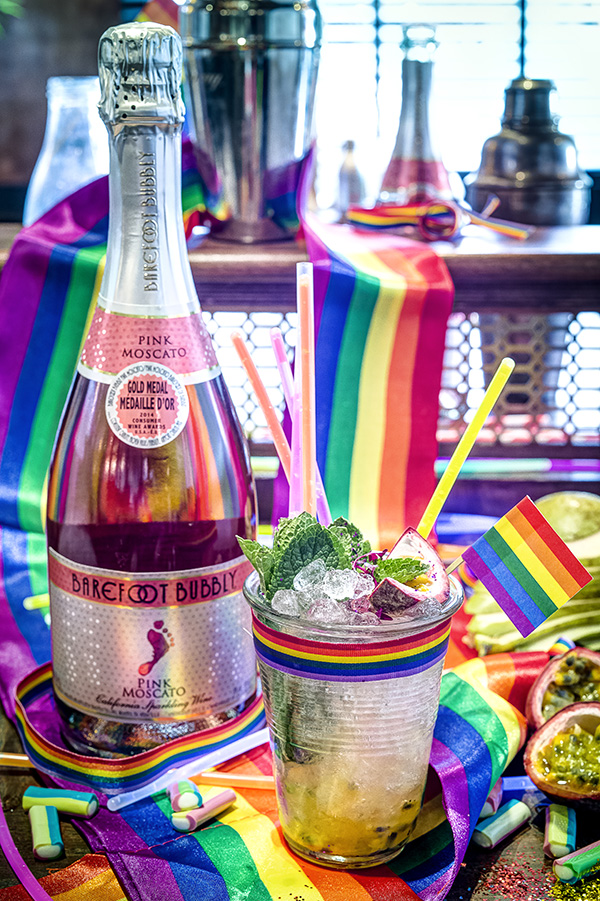 Show Your Pride with Barefoot Wine & Bubbly's Stride of Pride Cocktail