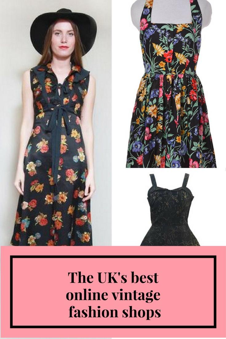 The UK's best online vintage fashion shops