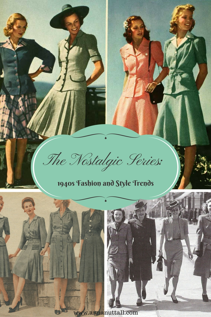 1940s Fashion and Style Trends