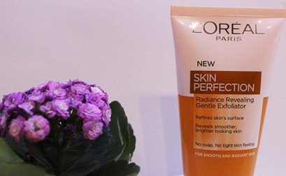 L'Oreal skin perfection gentle exfoliator