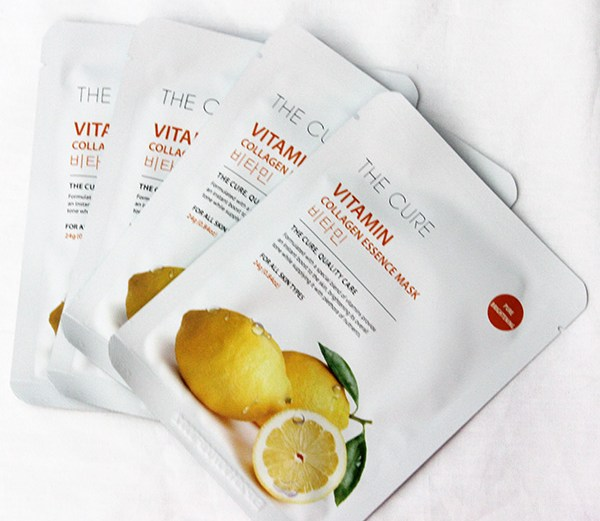 The Cure Vitamin Collagen Essence Mask