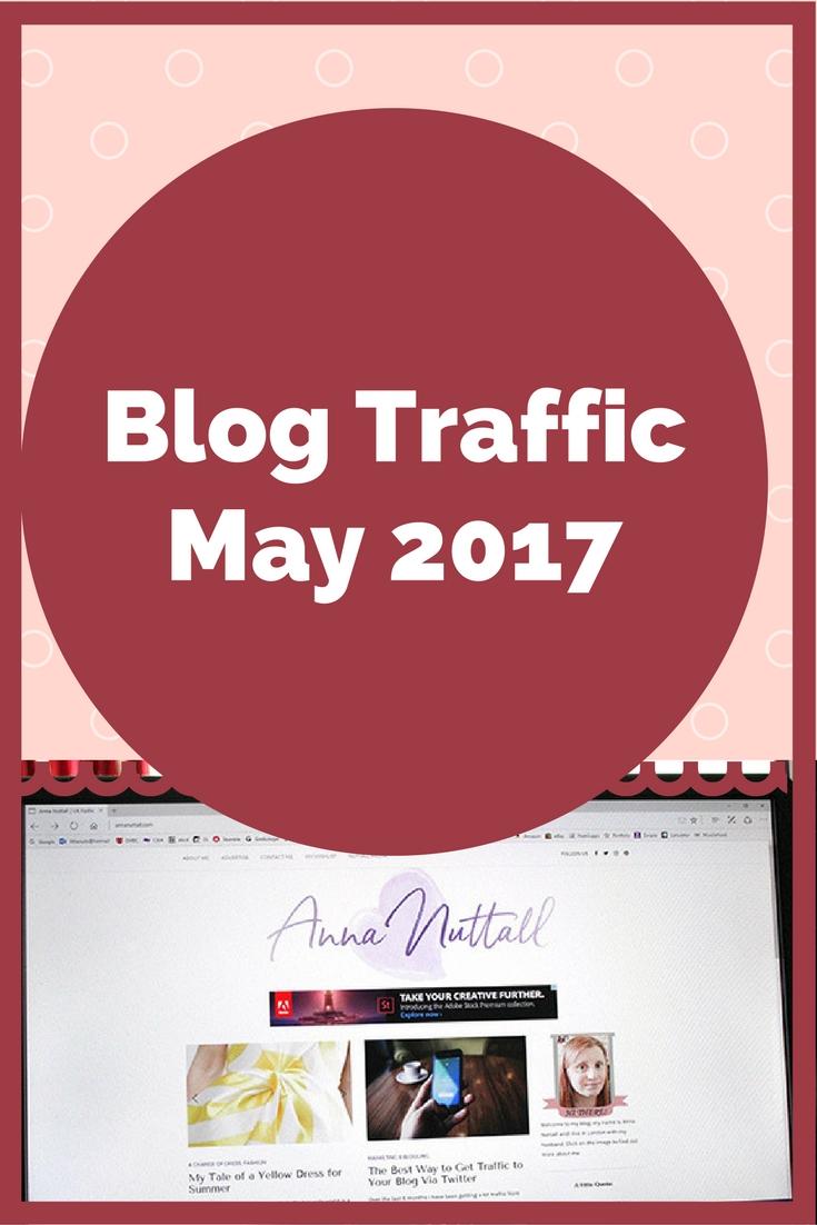 May blog traffic