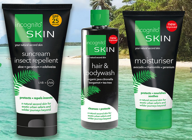 incognito Second Skin Sun cream