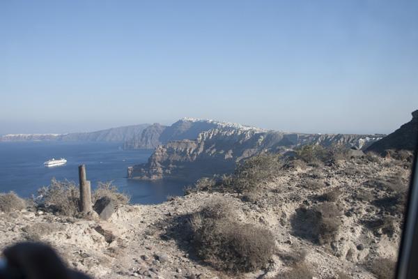 free holiday to Santorini