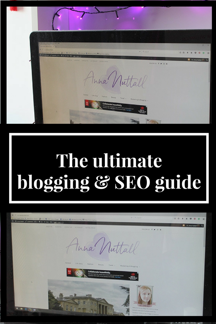 ultimate blogging & SEO guide