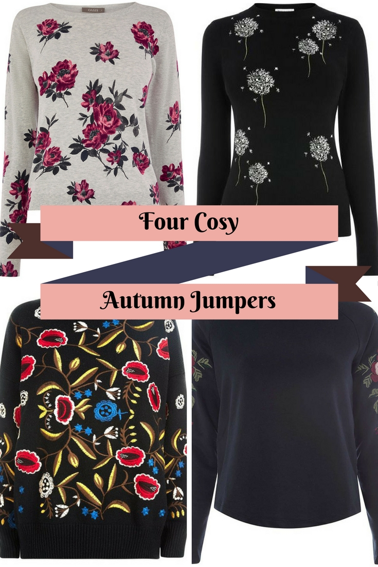 cosy autumn jumpers