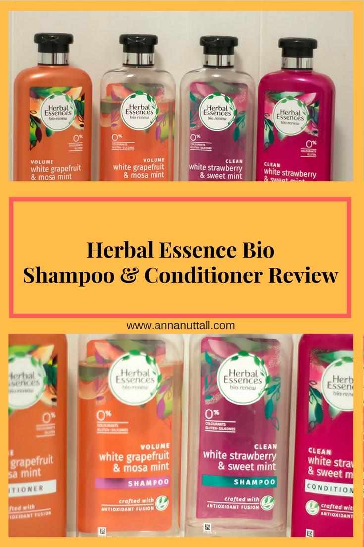 Herbal Essence Bio Shampoo and Conditioner