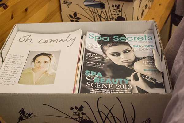 my boxes of secrets