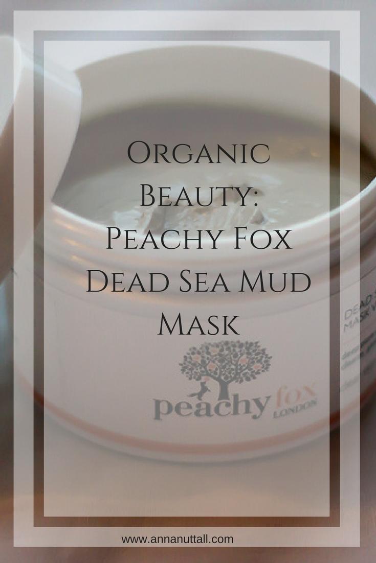 Peachy Fox Dead Sea Mud Mask