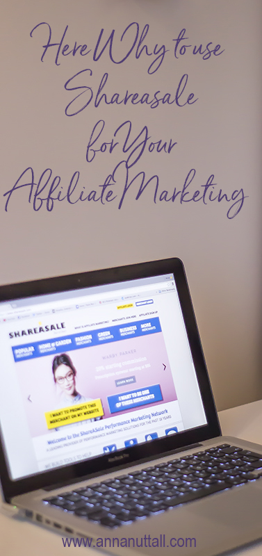 Shareasale for your affiliate marketing