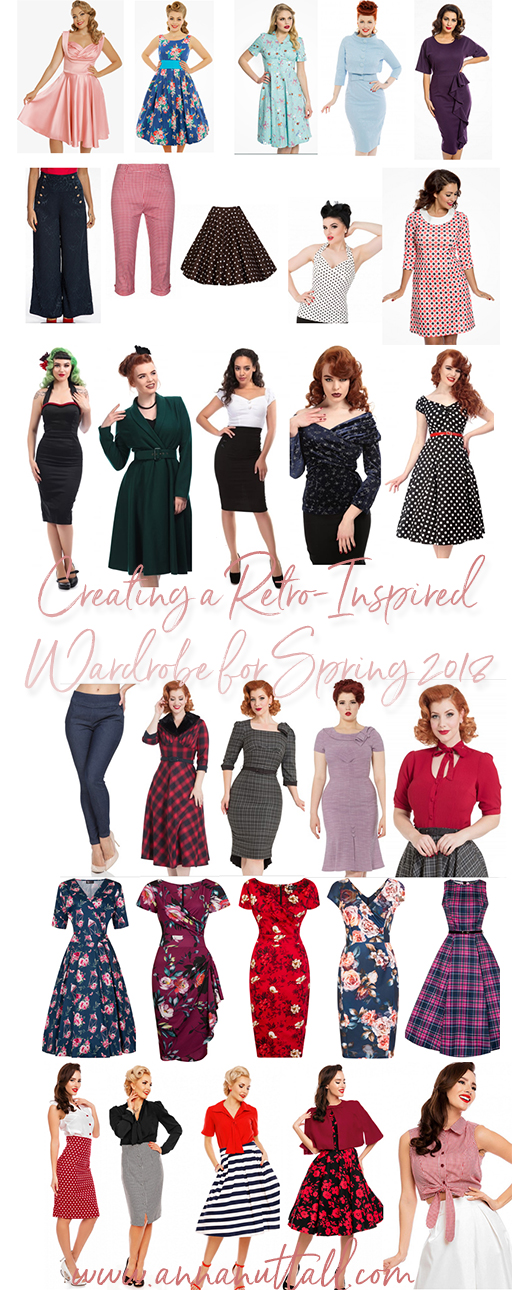 creating a retro-inspired wardrobe for spring 2018