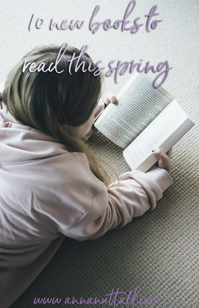 10 new books to read this spring