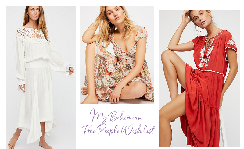 my bohemian Free People wish list