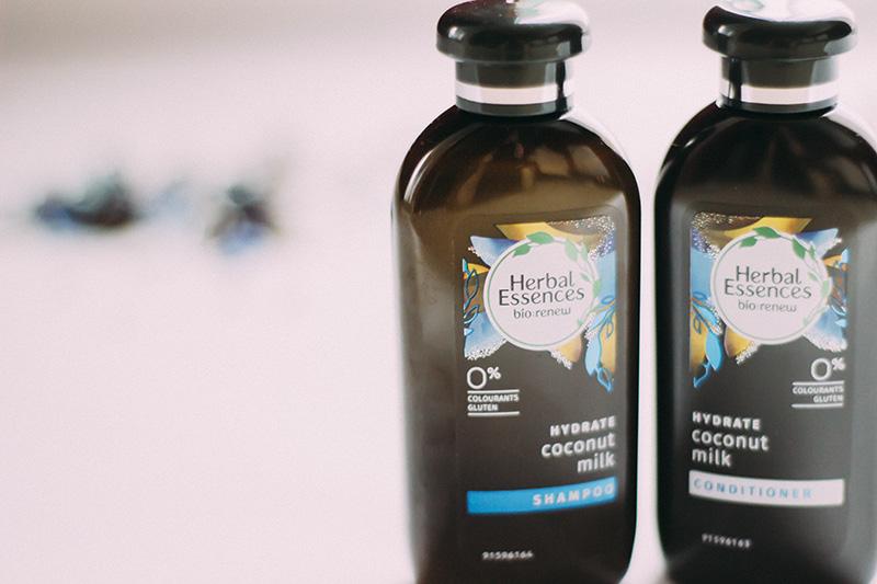 Herbal Essences Bio-Renew Coconut Milk Shampoo and Conditioner