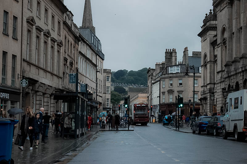 walking around Bath