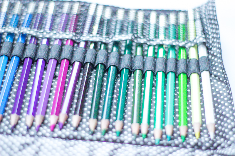 Hunkydory watercolours pencils