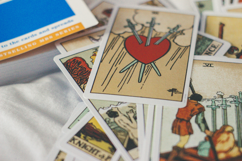 using tarot cards