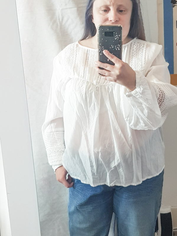 H&M White Blouse