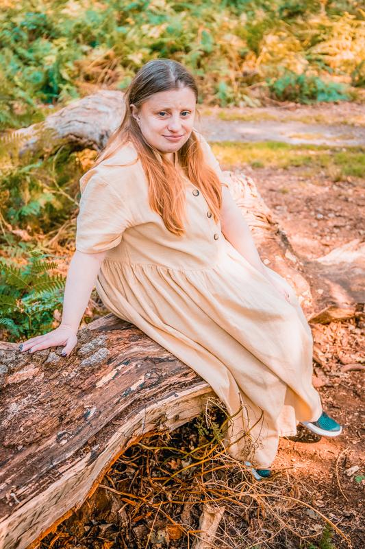 linen dress summer dress