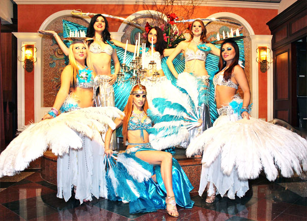 Spectacular Arabian Nights Stage Shows With Spotlighted
