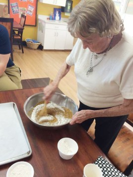 Residents bake up a storm at a top chef competition!