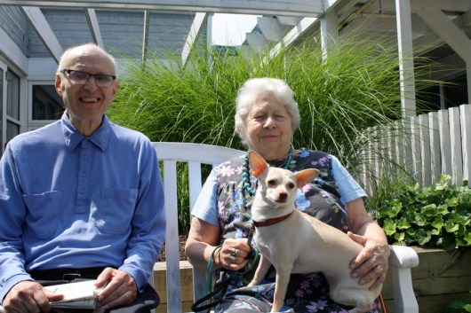 The Annapolitan is a pet-friendly assisted living community.