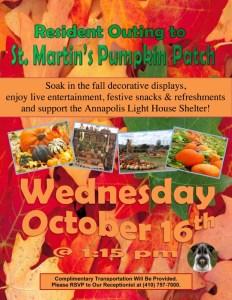 october 2019 pumpkin patch visit