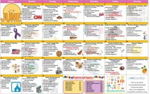 image of resident activity calendar