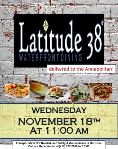 catered lunch flyer
