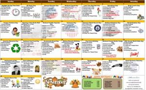 november 2020 assisted living calendar