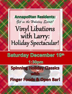 assisted living record party flyer