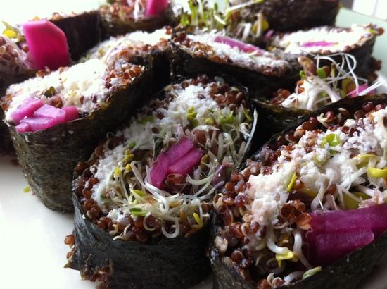 Borden - Nut Quinoa Sushi