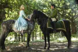 Cinderella Movie Forrest Scene