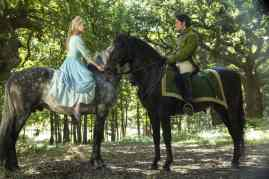 Cinderella Movie Forrest Scene